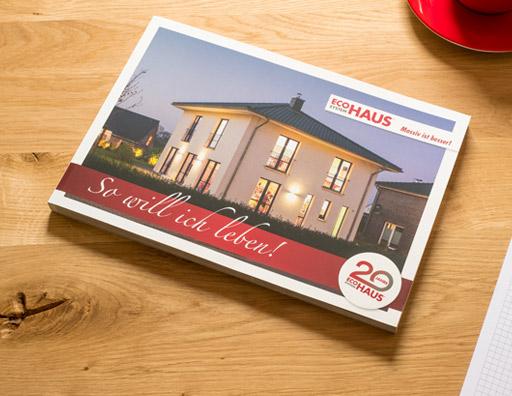 Werbeagentur für die Bau- und Immobilienbranche - Katalog für Baufirma