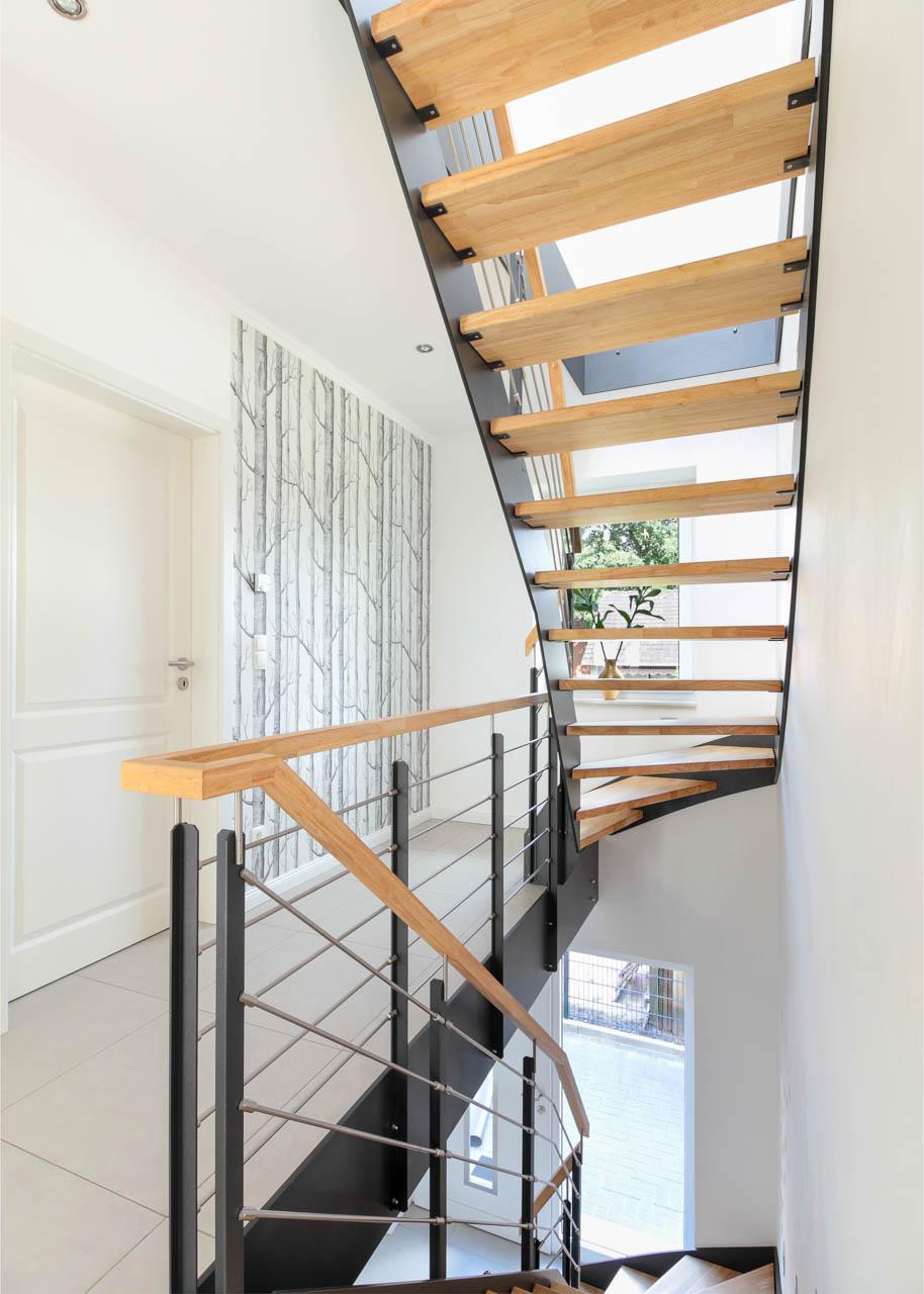 Treppenhaus im Neubau