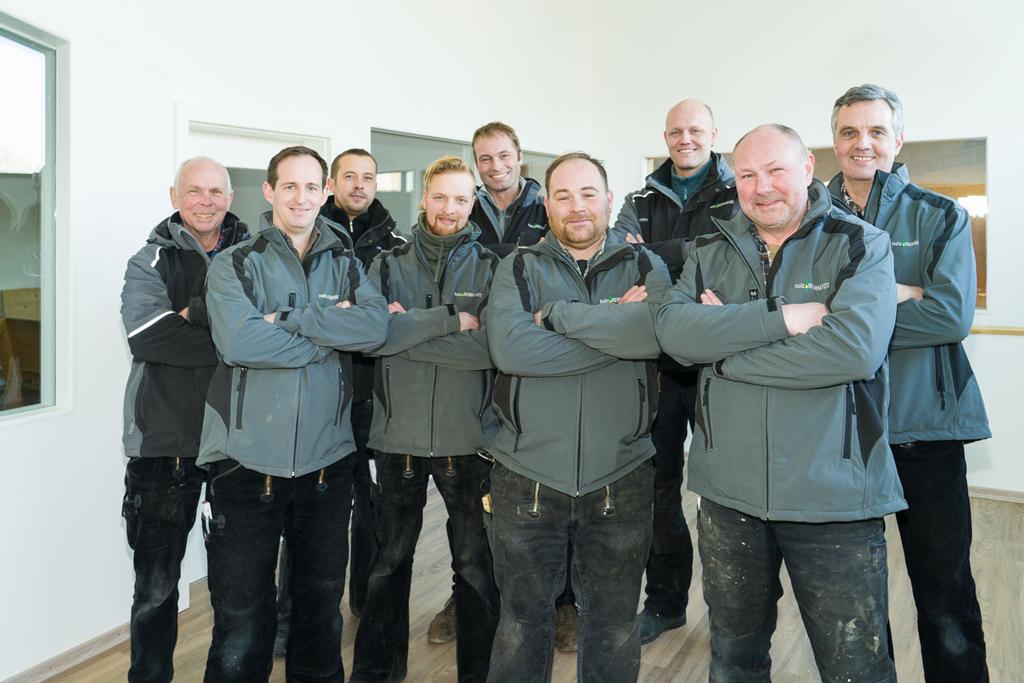 Das Team von Holzbau Reinhardt