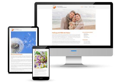 Internetpräsenz der Facharztpraxis Hörold aus Göttingen