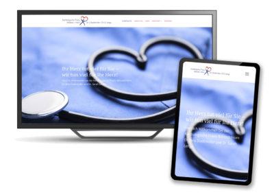 Webdesign für die Kardiologie Stadtmüller/Lenga
