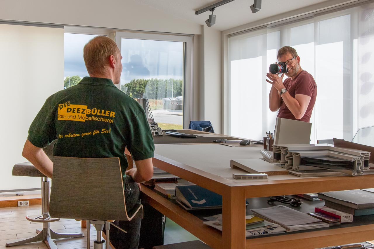 Corporate-Fotografie on Location im Handwerk