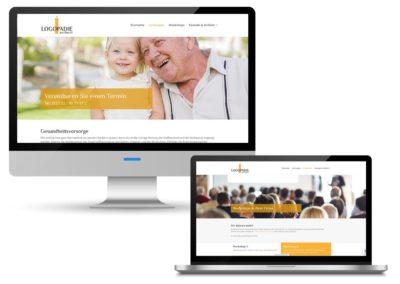 Webdesign für die Logopädie am Harrl