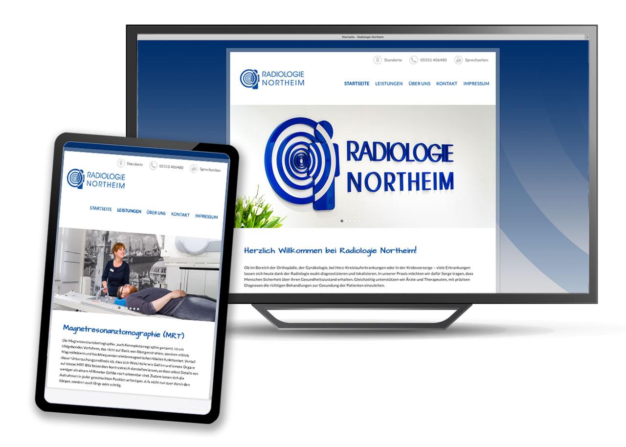 Webdesign-Gesundheitswesen-Radiologie