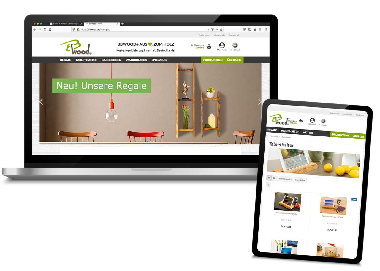 Webdesign-Onlineshop-BBWood