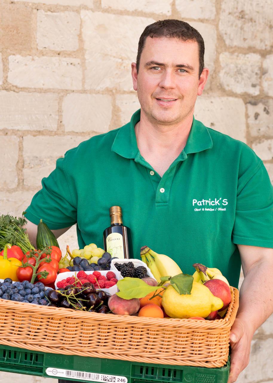 Patrick Scardina von Patrick's Obst & Gemüse, Lieferservice und Import italienischer Öle in Braunschweig