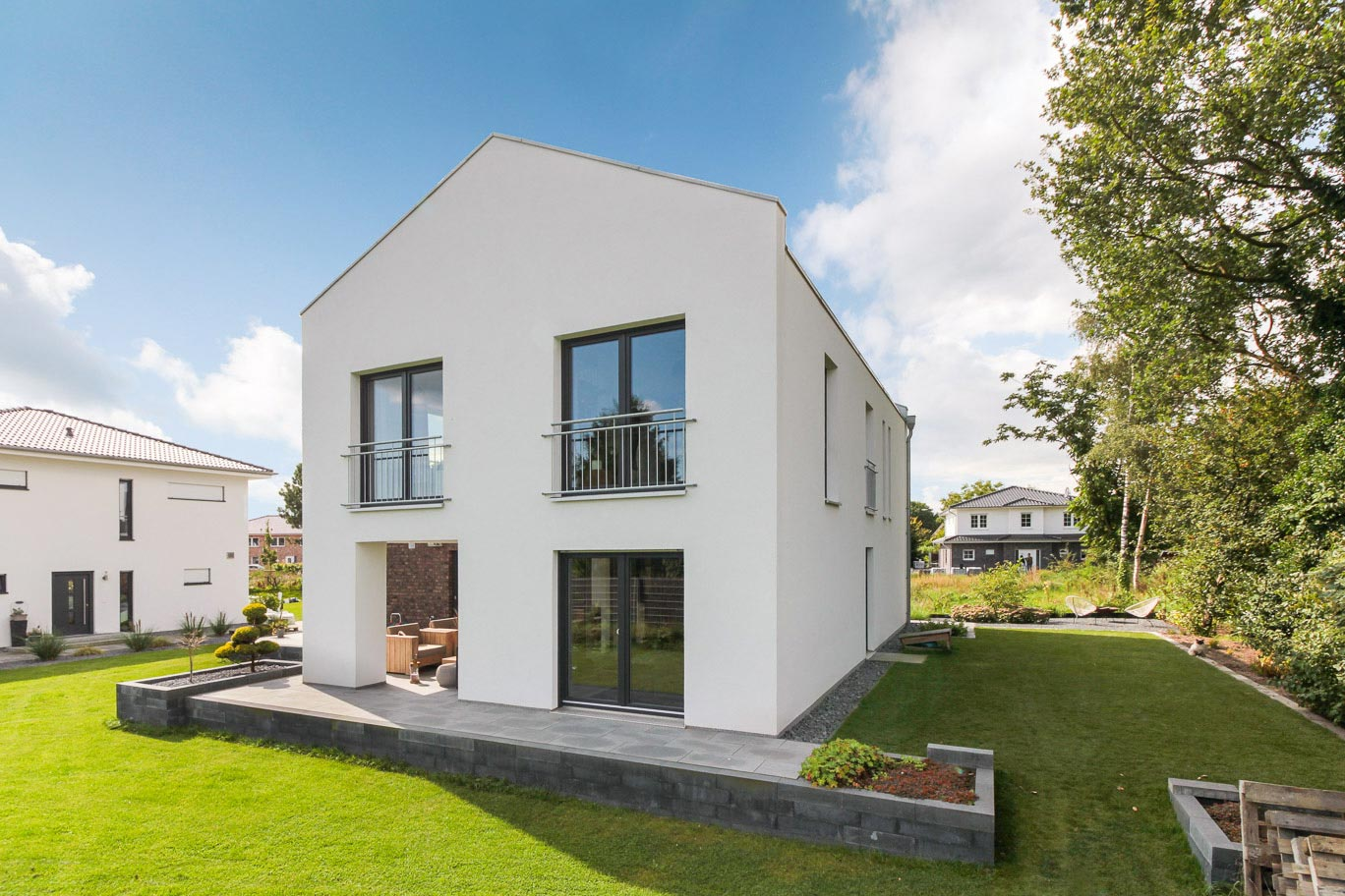 Homestory Hausbau Modern Classic