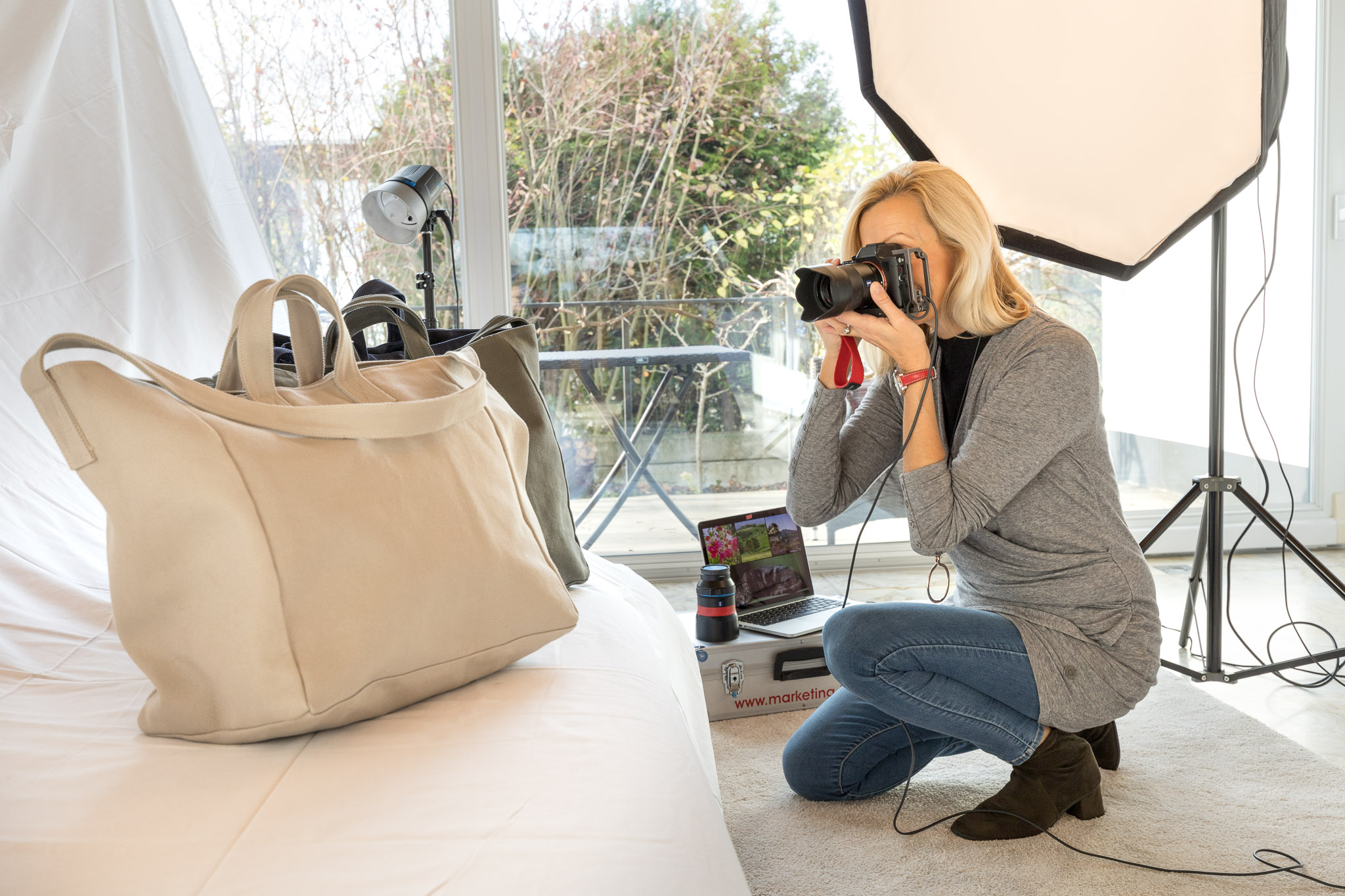 Produktfotografie Strandtaschen