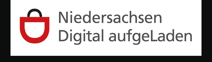 Niedersachsen Digital aufgeladen-Logo